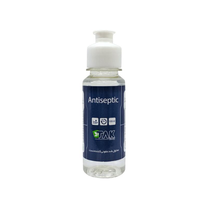محلول ضدعفونی کننده 100 میلی لیتری تک